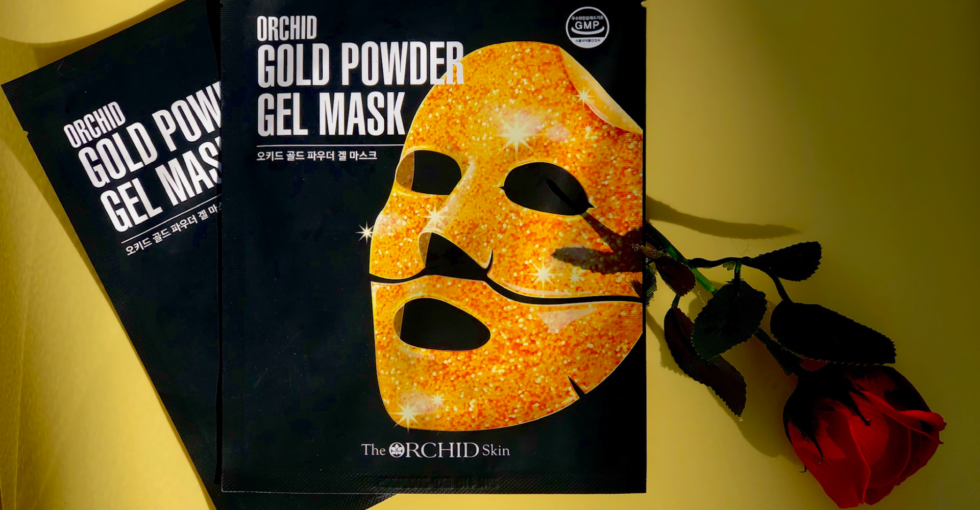 ORCHID Gold Powder Gel Mask