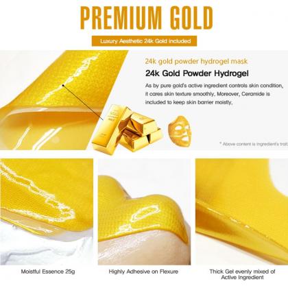 Gold Powder Gel Mask