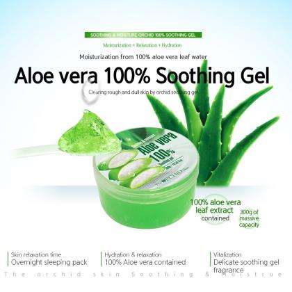 Aloe Vera 100% Soothing Gel