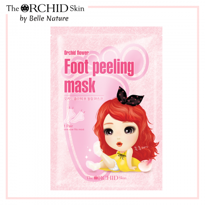 Orchid Flower Foot Peeling Mask