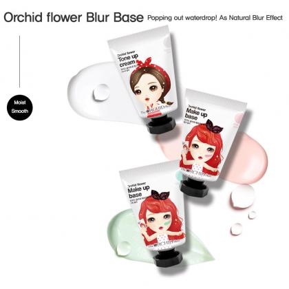 (TRIO PACK) Orchid Flower Make Up Base Set