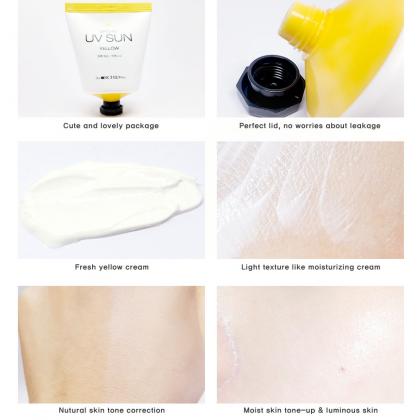 (COMBO) Brightening Snow Bbo Yan Hand Cream & UV Sun Yellow SPF50+, PA+++