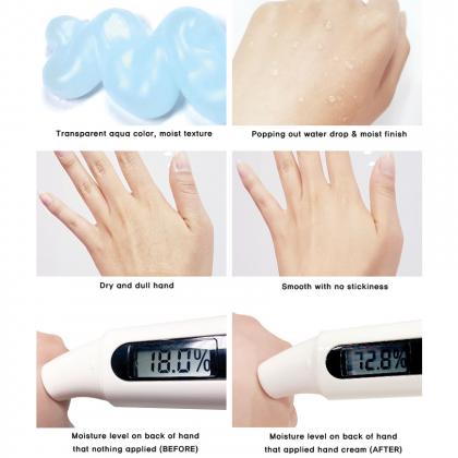 (COMBO) Moisture Tok Tok Hand Cream & Aqua UV Sun Gel SPF30, PA++
